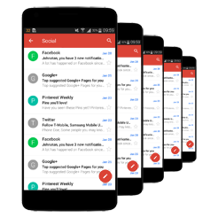 google business email on mobile device