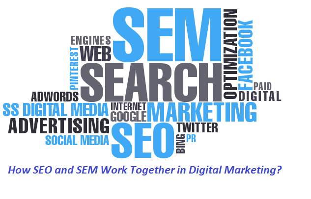 SEO services:How SEO and SEM Work Together in Digital Marketing?