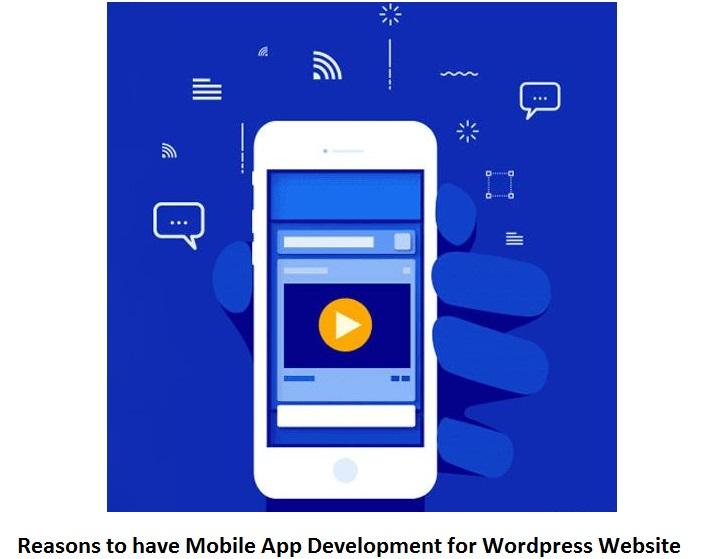 Mobile App Development for WordPress Website